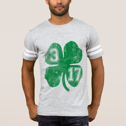 Shamrock 3-17 Men's Football T-Shirt