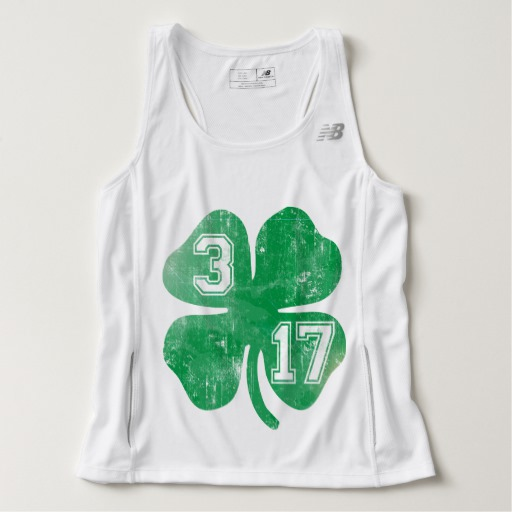 Shamrock 3-17 Men's New Balance Tempo Running Tank Top