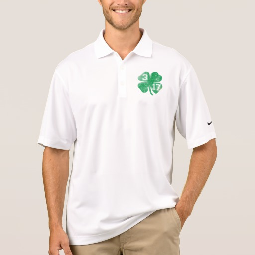 Shamrock 3-17 Men's Nike Dri-FIT Pique Polo Shirt