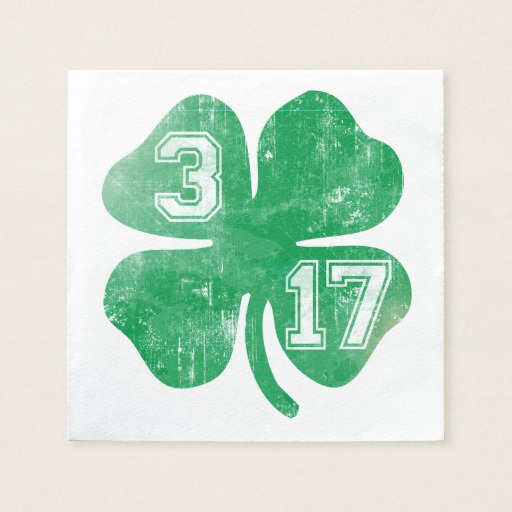 Shamrock 3-17 Standard Cocktail Napkin