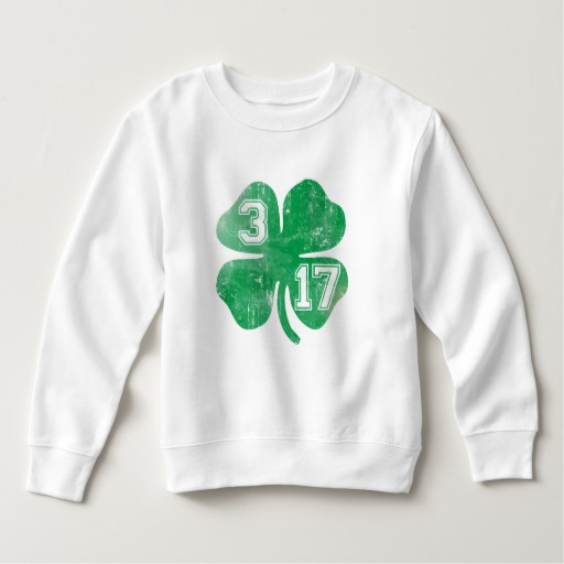 Shamrock 3-17 Toddler Fleece Sweatshirt