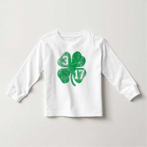 Shamrock 3-17 Toddler Long Sleeve T-Shirt