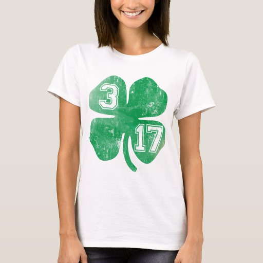 Shamrock 3-17 Women's Basic T-Shirt
