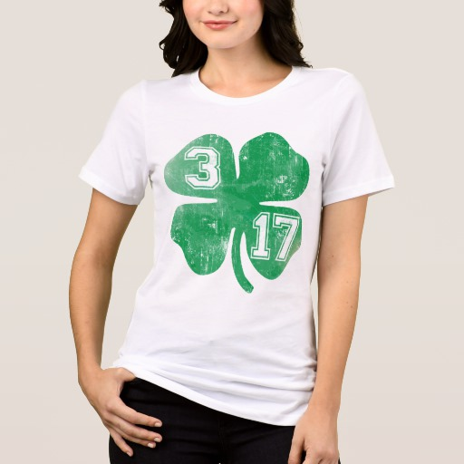 Shamrock 3-17 Women's Bella+Canvas Relaxed Fit Jersey T-Shirt