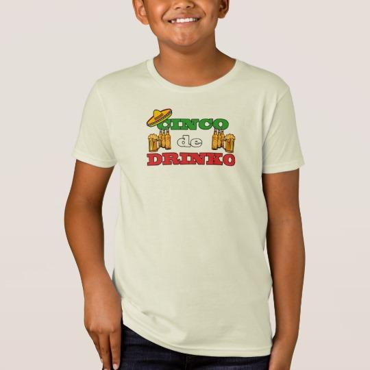Cinco de Drinko Kids' American Apparel Organic T-Shirt