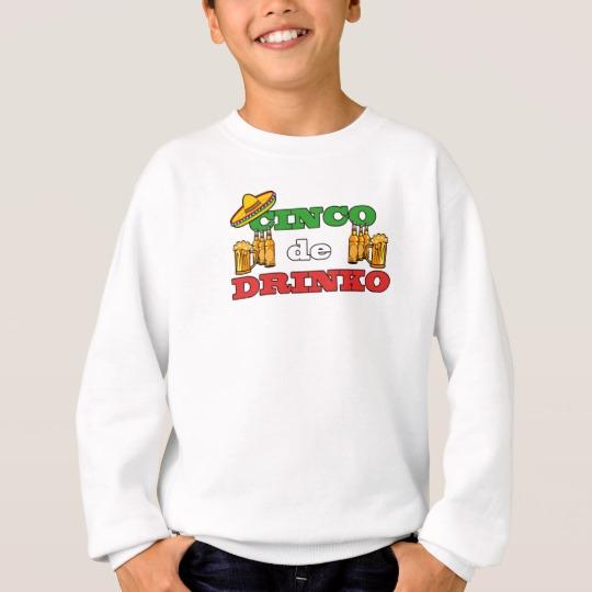 Cinco de Drinko Kids' Hanes ComfortBlend® Sweatshirt