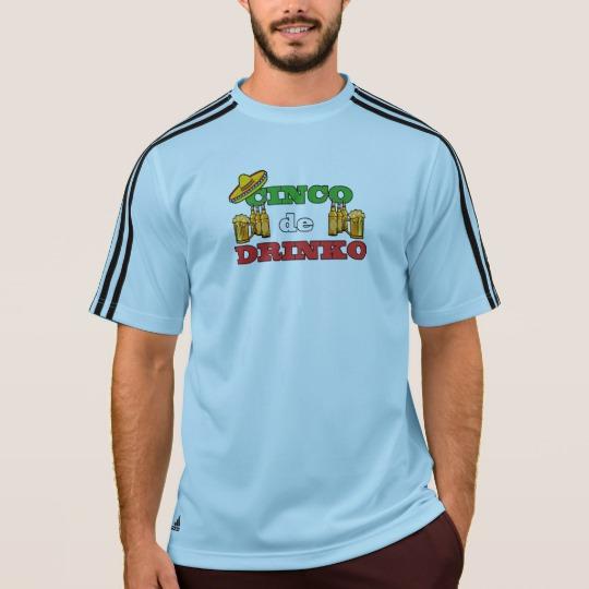 Cinco de Drinko Men's Adidas ClimaLite® T-Shirt