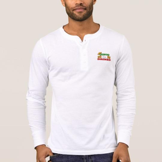 Cinco de Drinko Men's Bella+Canvas Henley Long Sleeve Shirt