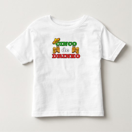 Cinco de Drinko Toddler Fine Jersey T-Shirt