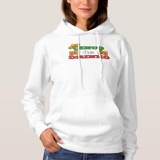 Cinco de Drinko Women's Basic Hooded Sweatshirt