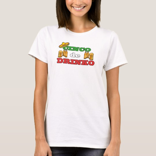 Cinco de Drinko Women's Basic T-Shirt