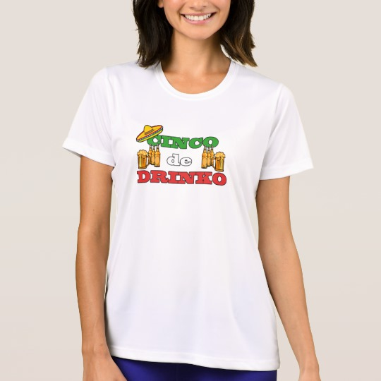 Cinco de Drinko Women's Sport-Tek Competitor T-Shirt