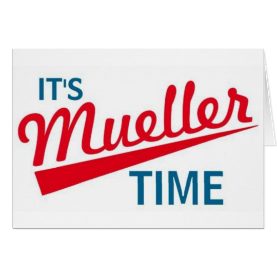 "It's Mueller Time 5.5"" x 7.5"" Invitation / Flat Card"