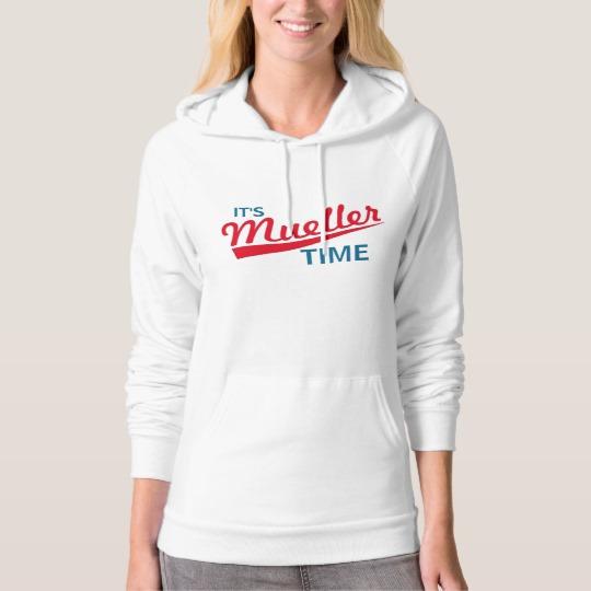It's Mueller Time American Apparel California Fleece Pullover Hoodie