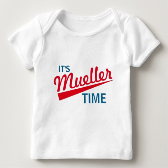 It's Mueller Time Baby American Apparel Lap T-Shirt