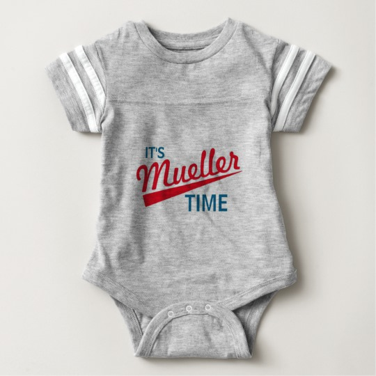 It's Mueller Time Baby Football Bodysuit
