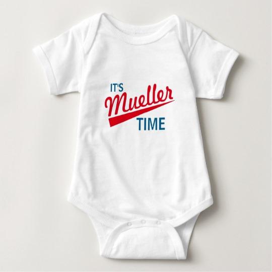 It's Mueller Time Baby Jersey Bodysuit
