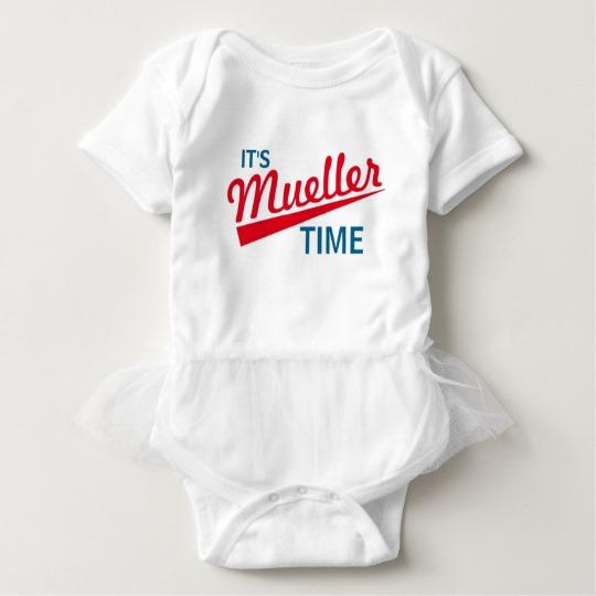 It's Mueller Time Baby Tutu Bodysuit
