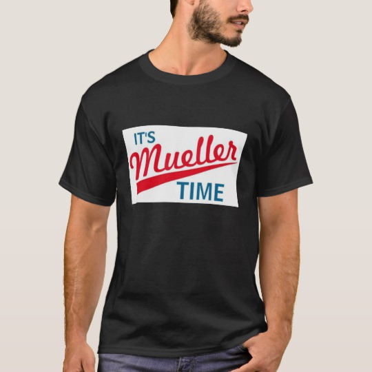 It's Mueller Time Basic Dark T-Shirt