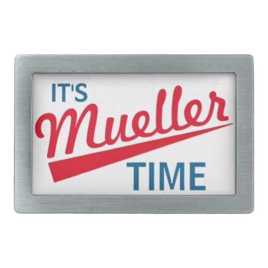 It's Mueller Time Belt Buckle