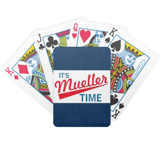 It's Mueller Time Bicycle Playing Cards
