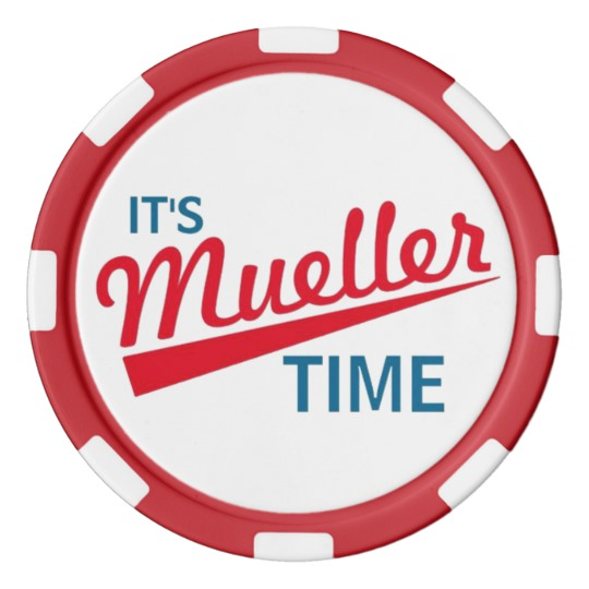 It's Mueller Time Clay Poker Chips