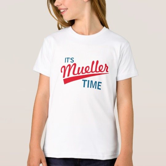It's Mueller Time Girls' American Apparel Organic T-Shirt