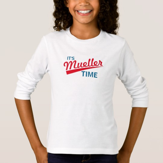 It's Mueller Time Girls' Basic Long Sleeve T-Shirt
