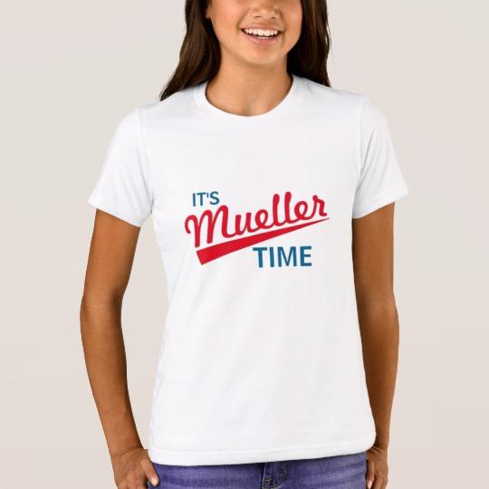 It's Mueller Time Girls' Bella+Canvas Crew T-Shirt