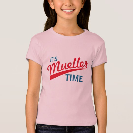 It's Mueller Time Girls' Bella+Canvas Fitted Babydoll T-Shirt