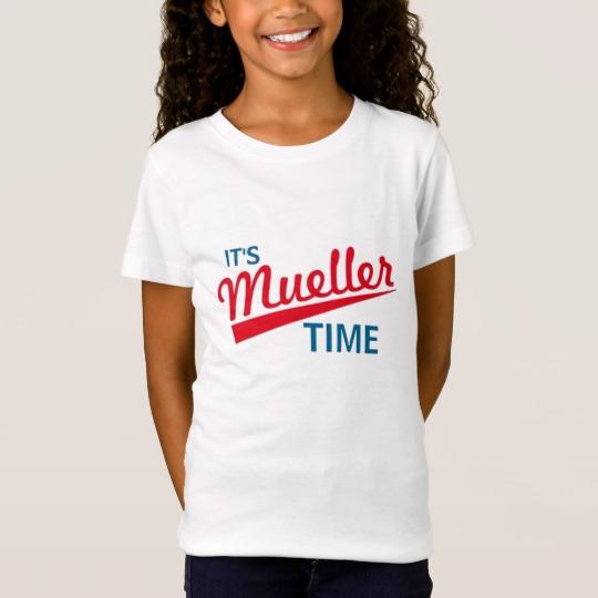 It's Mueller Time Girls' Fine Jersey T-Shirt