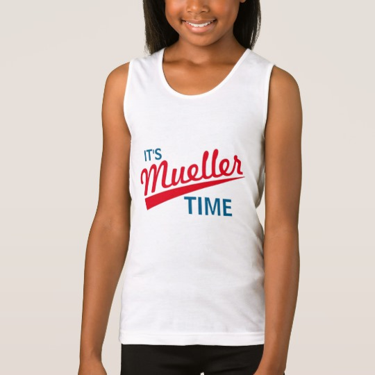 It's Mueller Time Girls' Fine Jersey Tank Top