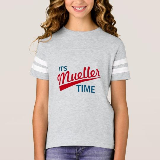 It's Mueller Time Girls' Football Shirt