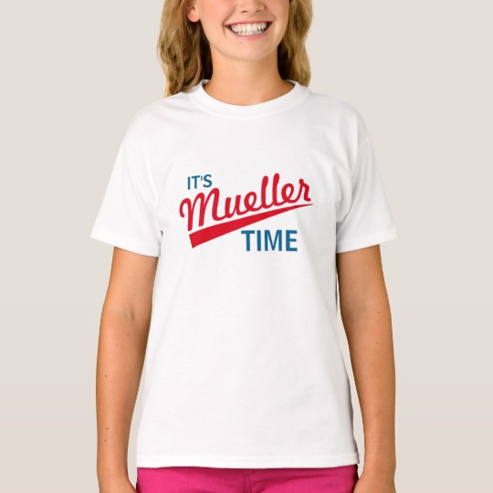 It's Mueller Time Girls' Hanes TAGLESS® T-Shirt