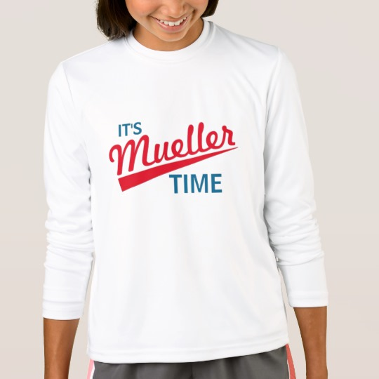 It's Mueller Time Girls' Sport-Tek Competitor Long Sleeve T-Shirt