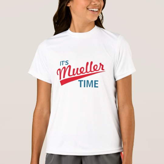 It's Mueller Time Girls' Sport-Tek Competitor T-Shirt