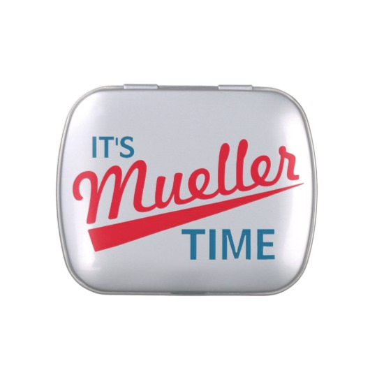 It's Mueller Time Jelly Belly™ Candy Tin