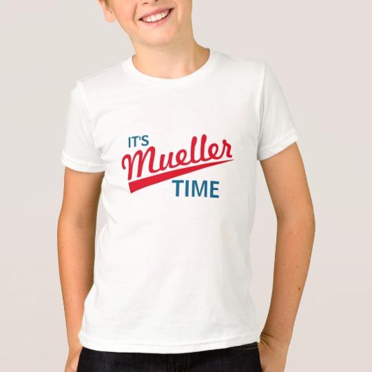 It's Mueller Time Kids' American Apparel Fine Jersey T-Shirt