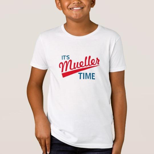 It's Mueller Time Kids' American Apparel Organic T-Shirt