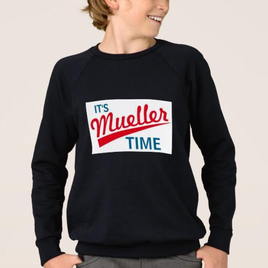 It's Mueller Time Kids' American Apparel Raglan Sweatshirt