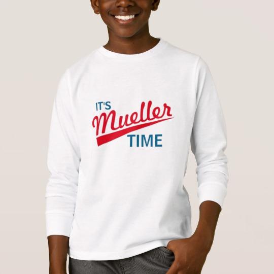 It's Mueller Time Kids' Basic Long Sleeve T-Shirt