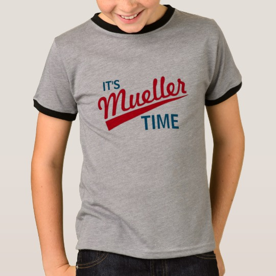 It's Mueller Time Kids' Basic Ringer T-Shirt