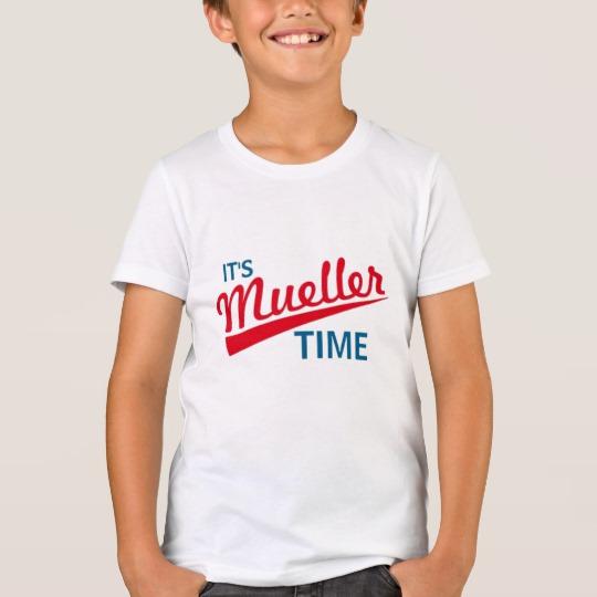 It's Mueller Time Kids' Bella+Canvas Crew T-Shirt