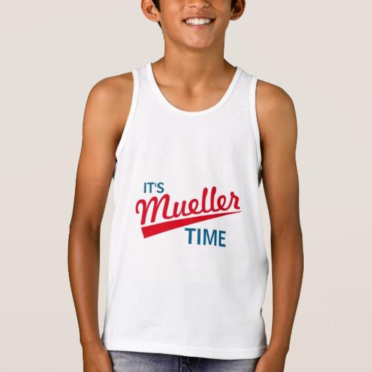 It's Mueller Time Kids' Bella+Canvas Jersey Tank Top