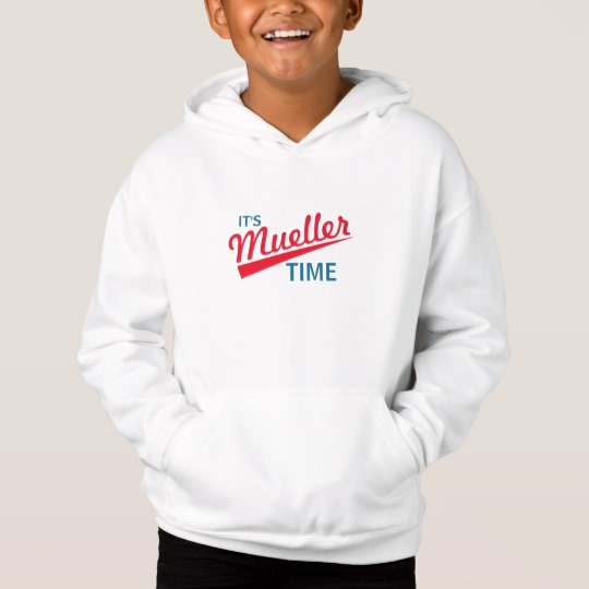 It's Mueller Time Kids' Fleece Pullover Hoodie