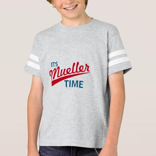 It's Mueller Time Kids' Football Shirt