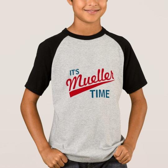 It's Mueller Time Kids' Short Sleeve Raglan T-Shirt