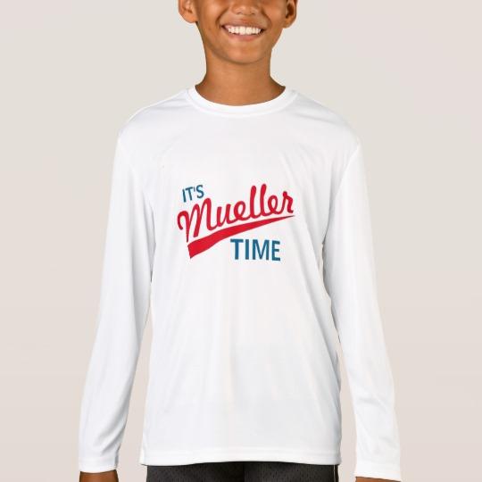 It's Mueller Time Kids' Sport-Tek Competitor Long Sleeve T-Shirt