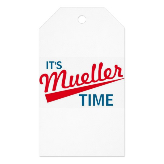 It's Mueller Time Matte Gift Tags