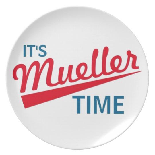It's Mueller Time Melamine Plate
